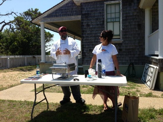 Rodanthe, NC: Local chef's demo