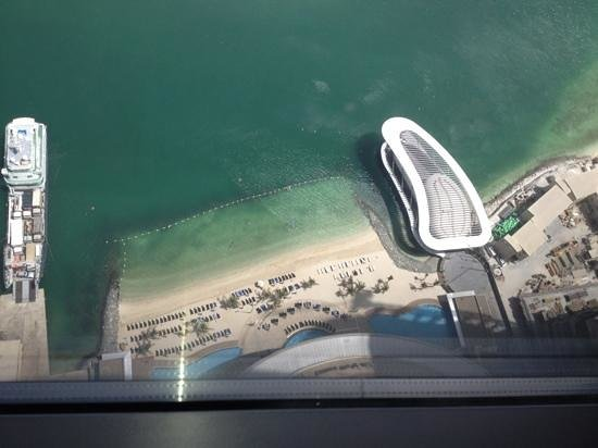 Jumeirah at Etihad Towers: view from club level