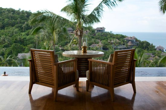 Four Seasons Resort Koh Samui Thailand: This is where we spent every night watching the sunset. Wow.