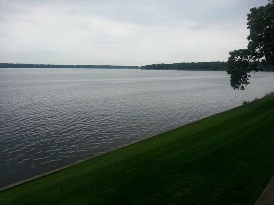 Delavan, WI : View from living room balcony