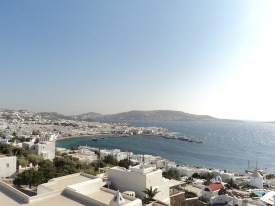 Mykonos View by Semeli Hotel: View from apartment