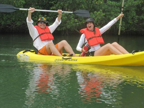 Hamanasi Adventure and Dive Resort: kayaking Sittee River