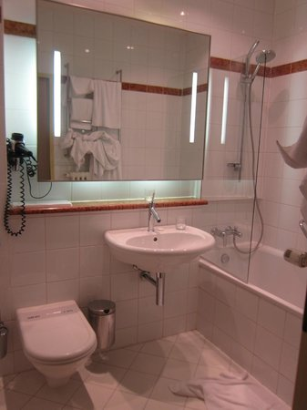 Maximilian Hotel: Bathroom