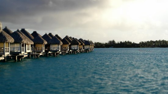 The St. Regis Bora Bora Resort: Deck View