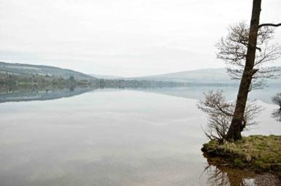 Balloch, UK: View from near the Innkeeper's Lodge Loch Lomond
