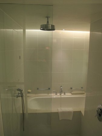 Fairmont Singapore : The bath / shower
