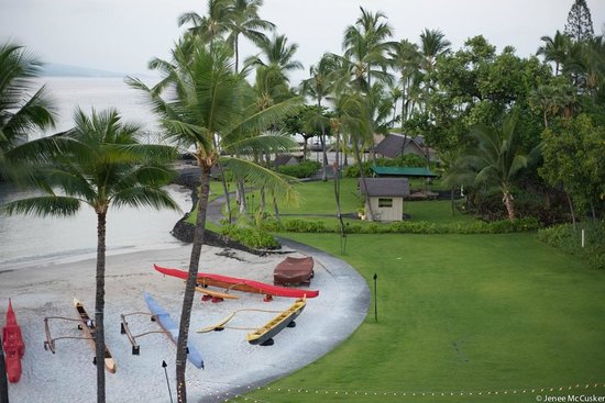 Courtyard King Kamehameha's Kona Beach Hotel: 4th floor balcony view