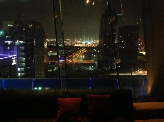Aloft Abu Dhabi: View East from Club So Hi
