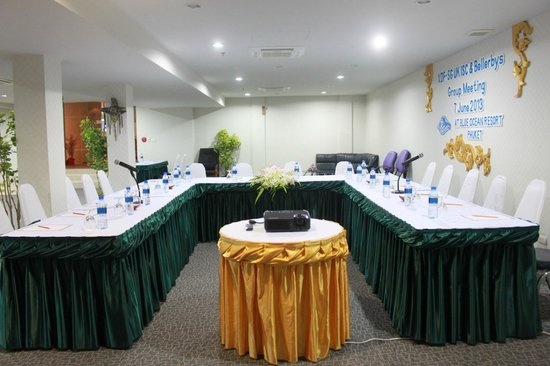 Blue Ocean Resort : Nice meeting room