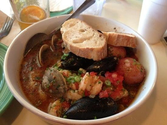 Morehead City, NC: The cioppino special, marvelous