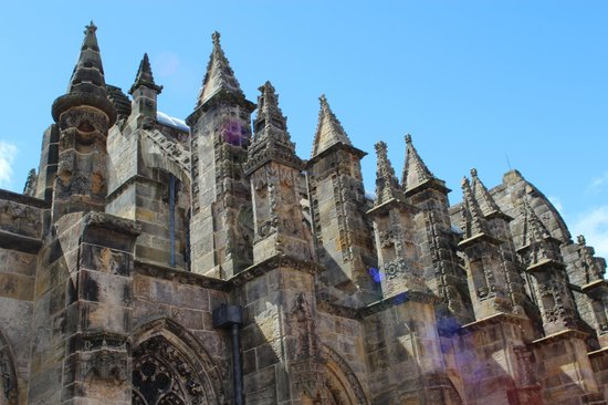 Roslin, UK: Rosslyn chapel