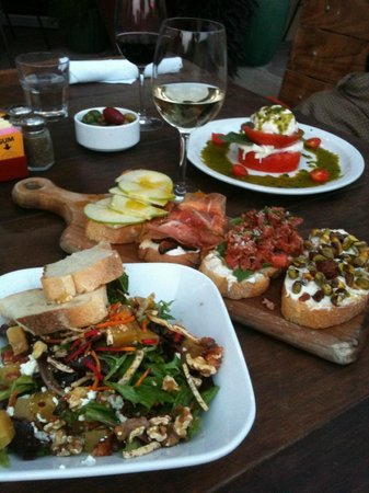 Gilbert, Аризона: Salads and Bruschetta Boards to die for!
