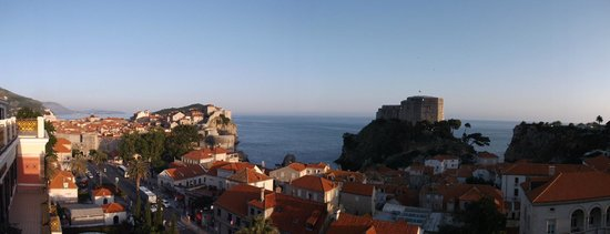 Hilton Imperial Dubrovnik: Panoramic shot from room 422
