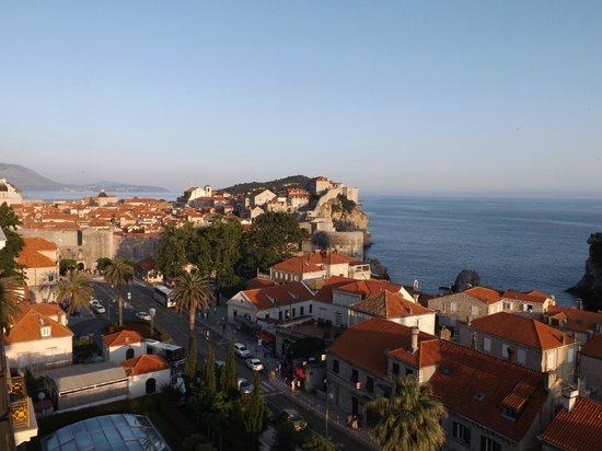 Hilton Imperial Dubrovnik: View of Old Town from room 422