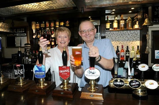 Bury, UK: Chris & Christine welcome you to the Black Bull