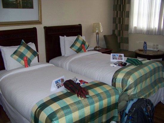 Addis Regency Hotel: the beds were pretty comfy