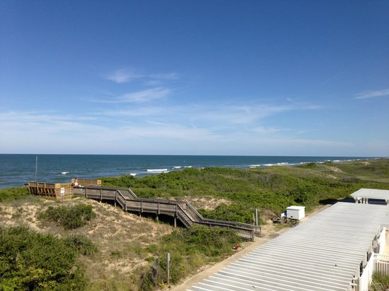 Hampton Inn & Suites Outer Banks/ Corolla: view from 340