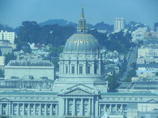 InterContinental San Francisco: View from 27th Floor