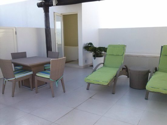 Marival Residences & World Spa: TERRAZA DEL PH