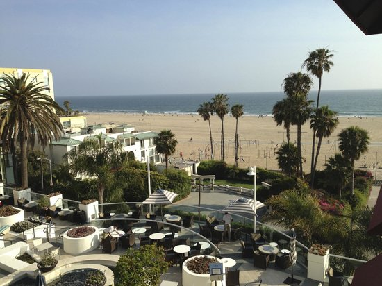 Loews Santa Monica Beach Hotel: View from our room