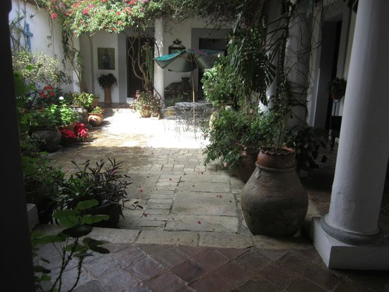 Casa Felipe Flores: Ground floor patio