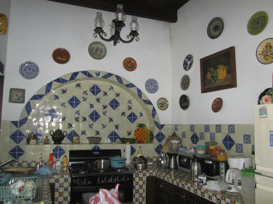 Casa Felipe Flores: Kitchen
