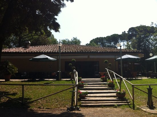 Tirrenia, Italien: La club house