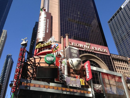 Crowne Plaza Times Square Manhattan: Location