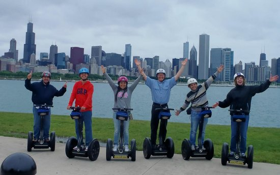 Experience Chicago, acquire her history, and enjoy amazing views with bike, Segway & food tours offered daily. The amazing lakefront, rich history, & spectacular .
