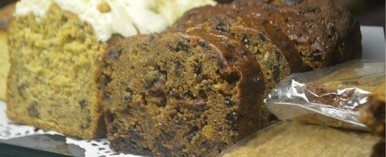 Long Melford, UK: Grandpa's Boiled Fruit Cake