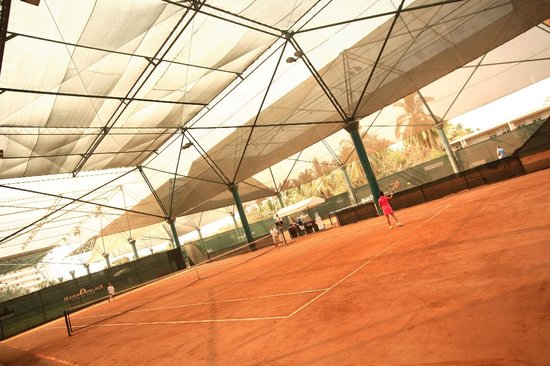 Mayan Palace Acapulco : Tennis Clay Courts