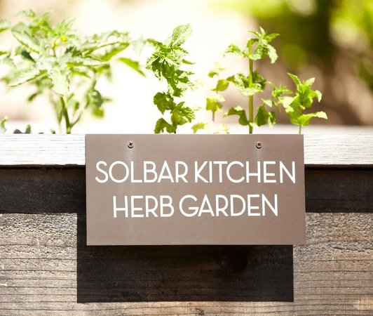 Solage Calistoga: Food from the Resorts Herb Garden