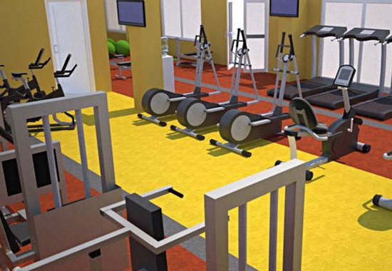 McLean, Virginie : Fitness Center