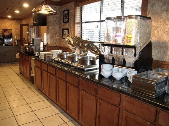 BEST WESTERN Sovereign Hotel - Albany: Breakfast Area