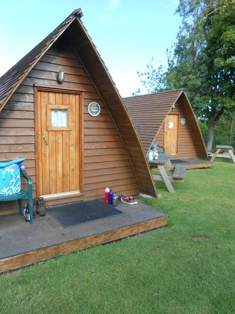 East Lothian, UK: Our wigwam