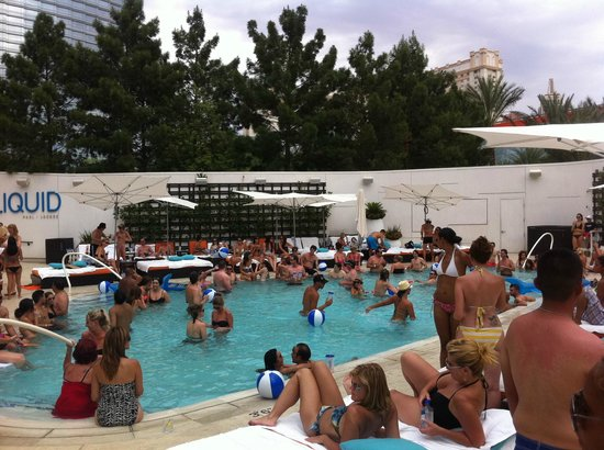 ARIA Sky Suites: Adult-Fun at Liquid
