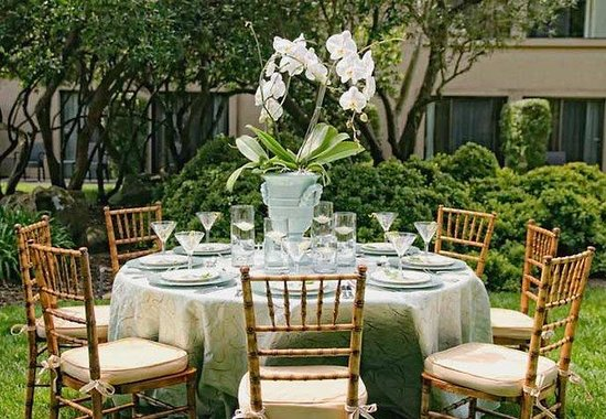 Napa Valley Marriott Hotel & Spa: Outdoor Reception