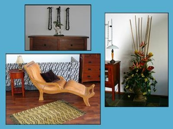 Keaau, HI: Luxury resort quality furnishings at Hale Mar
