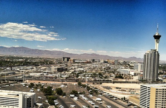 Circus Circus Hotel & Casino Las Vegas: View from room