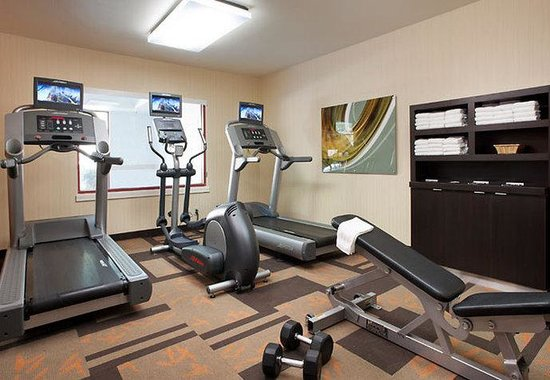‪‪Courtyard by Marriott San Jose Airport‬: Fitness Center‬
