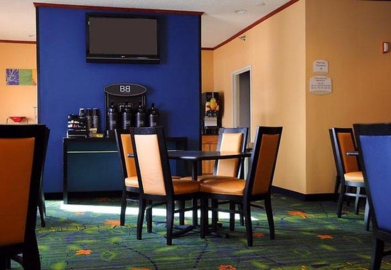 Fairfield Inn Spearfish: Breakfast Area