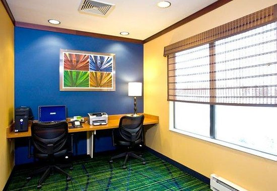 Fairfield Inn & Suites Muskegon Norton Shores: Business Center