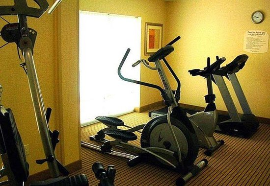Fairfield Inn & Suites Jacksonville Butler Boulevard: Exercise Room