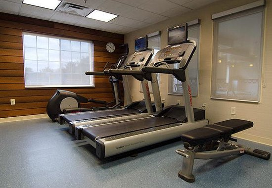 Fairfield Inn & Suites Saratoga - Malta: Fitness Center