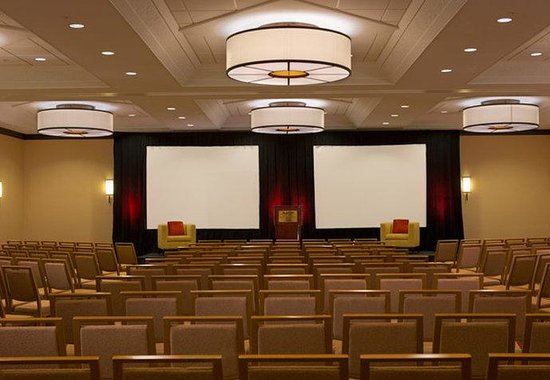 Crystal City Marriott at Reagan National Airport: Ballroom – Theatre Setup
