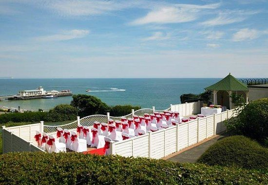Bournemouth Highcliff Marriott Hotel: Wedding with a View