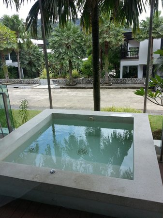 Sea Pearl Villas Resort: Jacuzzi