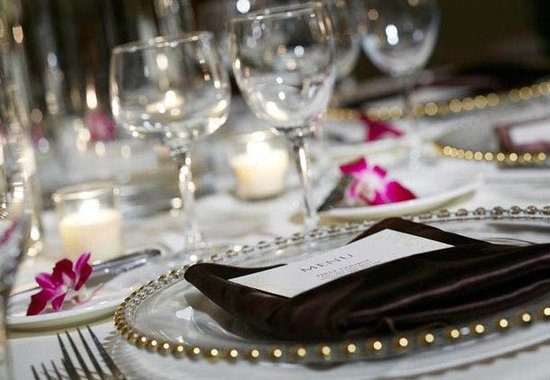 Pittsford, NY: Social Event Place Setting