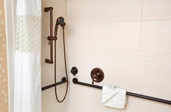 Hampton Inn Jackson Hole: Accessible Shower