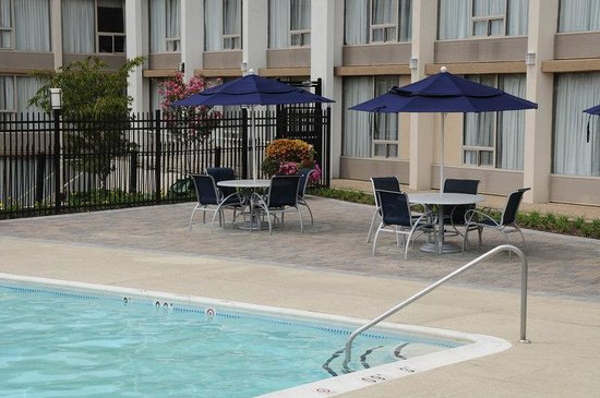 Jessup, MD: Relax in our beautiful outdoor pool.